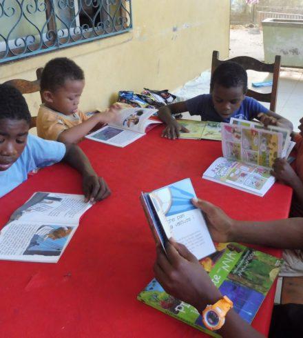 La lecture, un moment de découverte et de sérieux