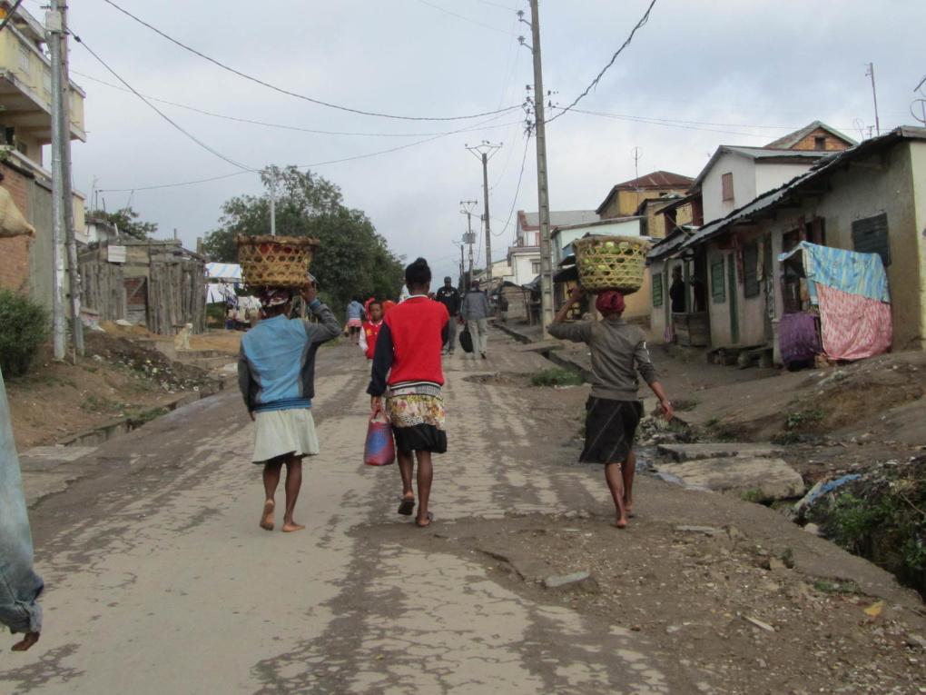 Madagascar route