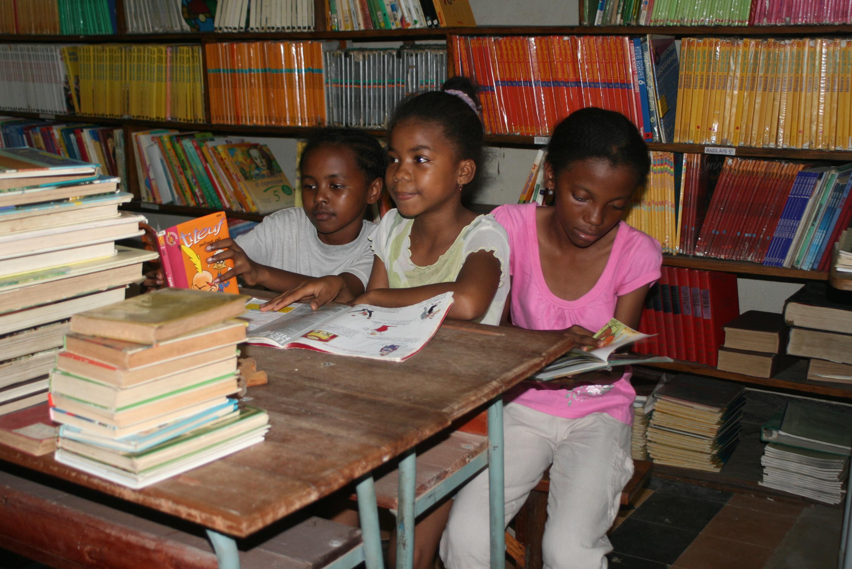 Une école malgache