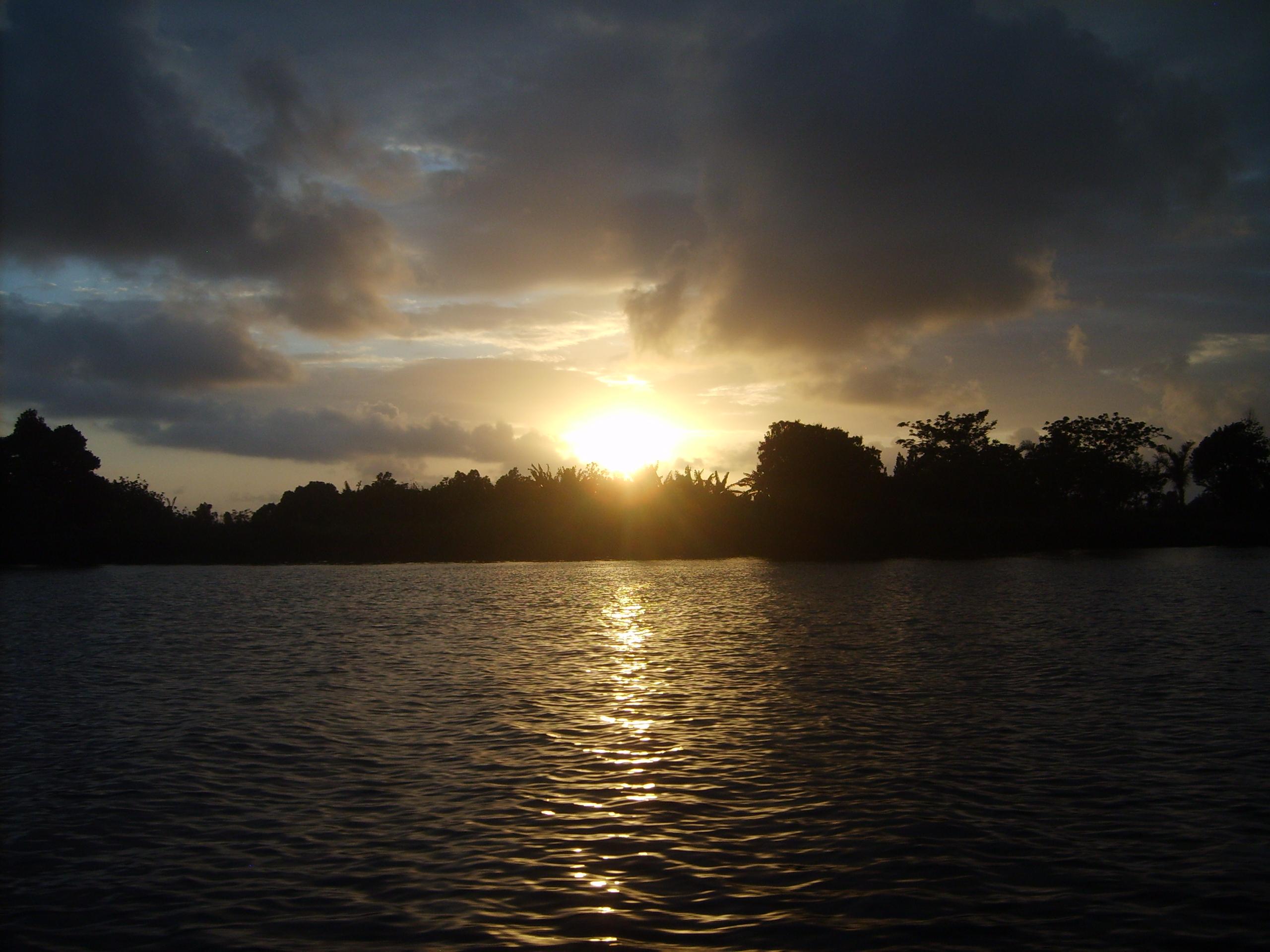 Un coucher de soleil malgache