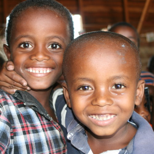 Photo d'enfant à Madagascar