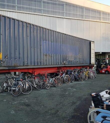 Envoi d'un container pour Madagascar