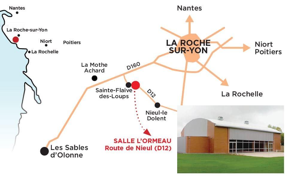 Salle socio-culturelle l'Ormeau à Sainte-Flaive-des-Loups